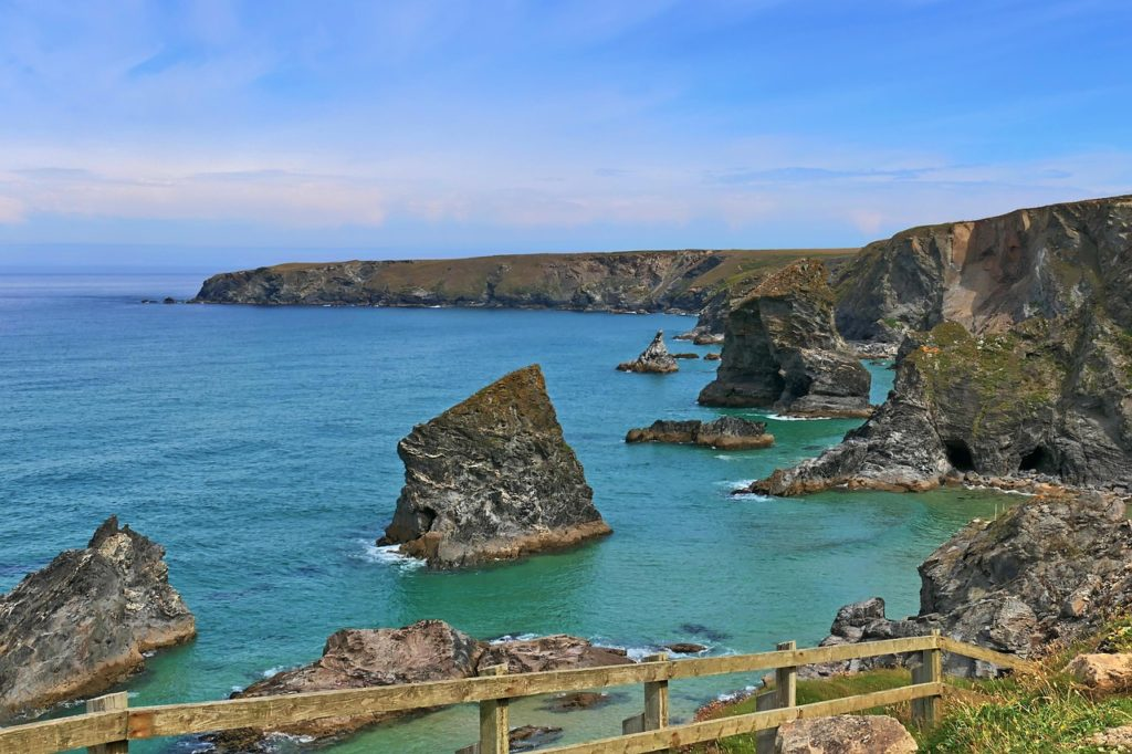 The Bedruthen Steps, Cornwall