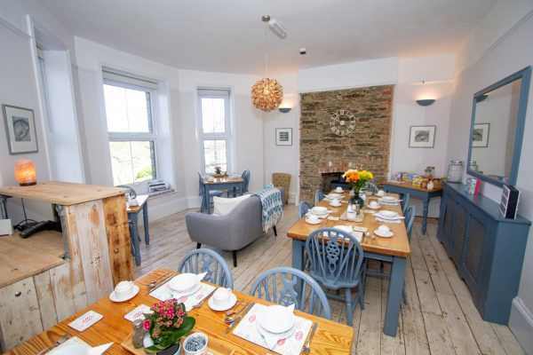 Cliff House's Breakfast room on the promotions page