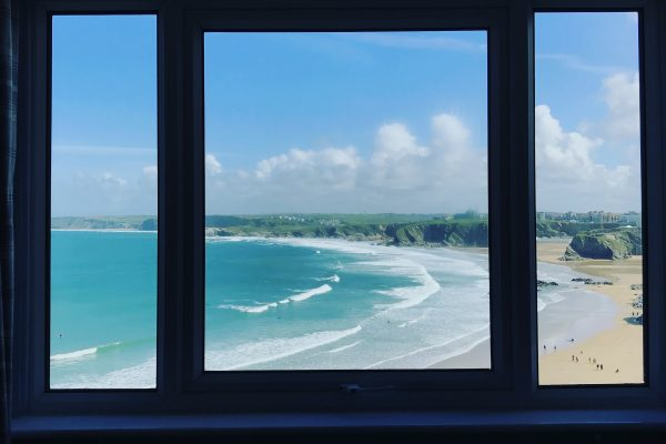 window view, like a picture frame from Harbour View